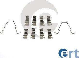 ERT 420181 - Комплектующие, колодки дискового тормоза autodnr.net