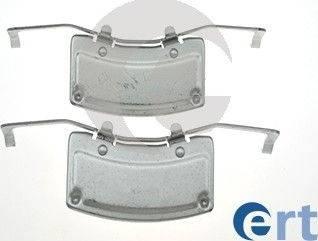 ERT 420185 - Комплектующие, колодки дискового тормоза avtokuzovplus.com.ua