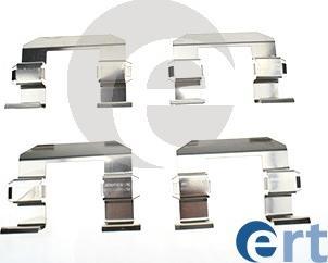 ERT 420207 - Комплектующие, колодки дискового тормоза autodnr.net