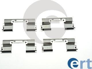 ERT 420211 - Комплектующие, колодки дискового тормоза avtokuzovplus.com.ua