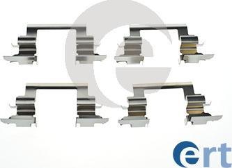 ERT 420218 - Комплектующие, колодки дискового тормоза autodnr.net