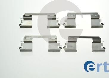 ERT 420220 - Комплектующие, колодки дискового тормоза avtokuzovplus.com.ua