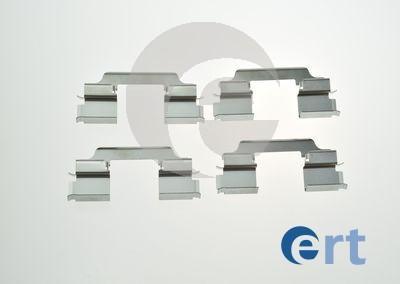 ERT 420222 - Комплектующие, колодки дискового тормоза avtokuzovplus.com.ua