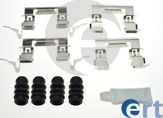 ERT 420227 - Комплектующие, колодки дискового тормоза avtokuzovplus.com.ua