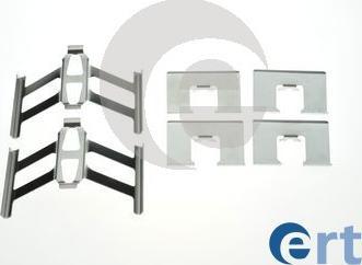 ERT 420239 - Комплектующие, колодки дискового тормоза autodnr.net