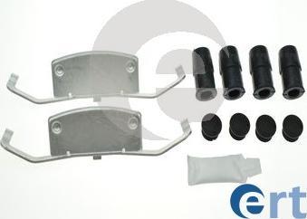 ERT 420242 - Комплектующие, колодки дискового тормоза autodnr.net