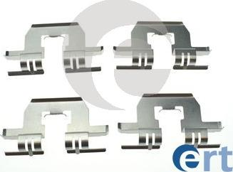 ERT 420264 - Комплектующие, колодки дискового тормоза avtokuzovplus.com.ua
