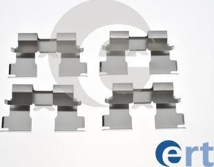 ERT 420273 - Комплектующие, колодки дискового тормоза avtokuzovplus.com.ua