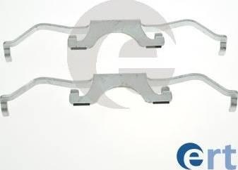 ERT 420288 - Комплектующие, колодки дискового тормоза autodnr.net