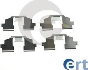 ERT 420292 - Комплектующие, колодки дискового тормоза autodnr.net