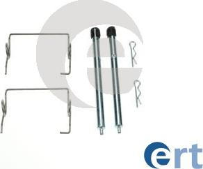 ERT 420297 - Комплектующие, колодки дискового тормоза avtokuzovplus.com.ua