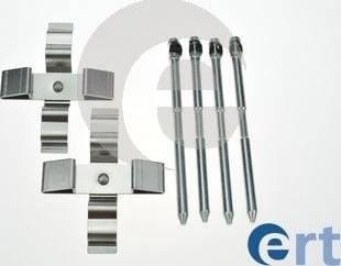 ERT 420307 - Комплектующие, колодки дискового тормоза avtokuzovplus.com.ua