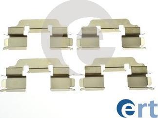 ERT 420314 - Комплектующие, колодки дискового тормоза autodnr.net