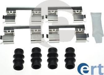 ERT 420315 - Комплектующие, колодки дискового тормоза avtokuzovplus.com.ua