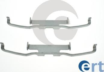 ERT 420317 - Комплектующие, колодки дискового тормоза autodnr.net