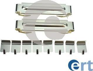 ERT 420334 - Комплектующие, колодки дискового тормоза avtokuzovplus.com.ua