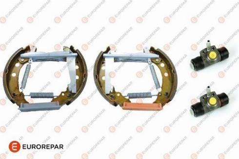 EUROREPAR 1611453680 - Комплект тормозов, барабанный тормозной механизм autodnr.net