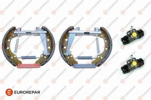 EUROREPAR 1611453880 - Комплект тормозов, барабанный тормозной механизм autodnr.net