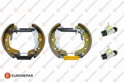 EUROREPAR 1622818280 - Комплект тормозов, барабанный тормозной механизм autodnr.net