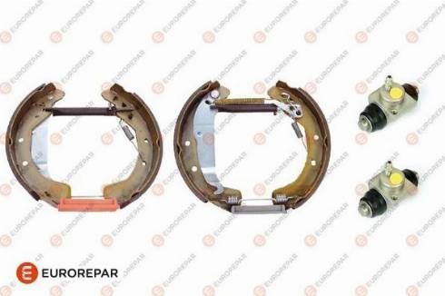 EUROREPAR 1622818480 - Комплект тормозов, барабанный тормозной механизм autodnr.net