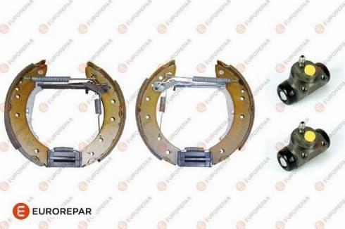 EUROREPAR e170025 - Комплект тормозов, барабанный тормозной механизм autodnr.net