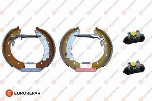 EUROREPAR e170042 - Комплект тормозов, барабанный тормозной механизм autodnr.net