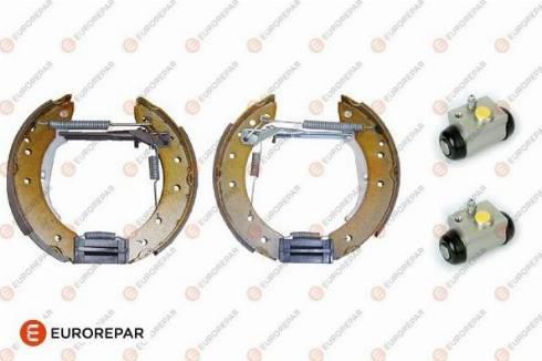 EUROREPAR e170066 - Комплект тормозов, барабанный тормозной механизм autodnr.net