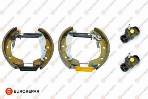 EUROREPAR e170082 - Комплект тормозов, барабанный тормозной механизм autodnr.net