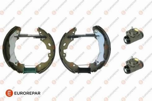 EUROREPAR e170087 - Комплект тормозов, барабанный тормозной механизм autodnr.net