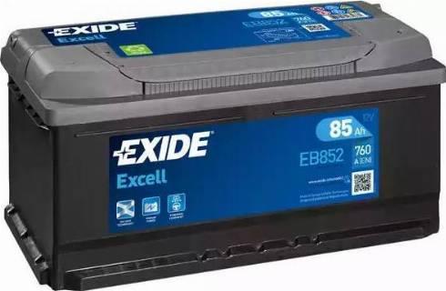 Exide EB852 - Стартерная аккумуляторная батарея car-mod.com