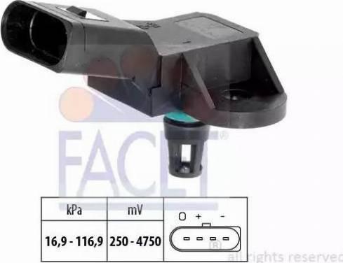 FACET 10.3226 - Датчик давления, усилитель тормозной системы car-mod.com