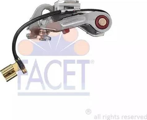 FACET 1.2534HDVS - Контактная группа, распределитель зажигания avtokuzovplus.com.ua