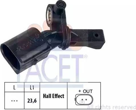 FACET 21.0012 - Датчик ABS, частота вращения колеса autodnr.net