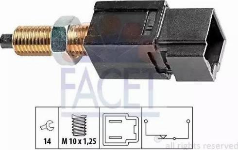 FACET 71052 - Выключатель, привод сцепления (Tempomat) car-mod.com