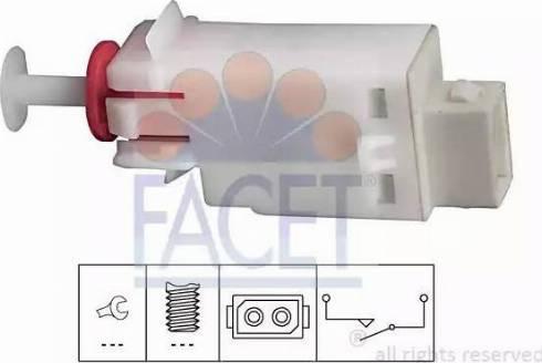 FACET 7.1123 - Выключатель, привод сцепления (Tempomat) car-mod.com