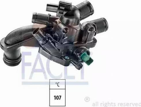 FACET 7.8863 - Термостат, охлаждающая жидкость car-mod.com