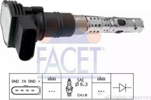 FACET 9.6325 - Катушка зажигания car-mod.com