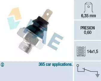 FAE 11260 - Датчик давления масла autodnr.net