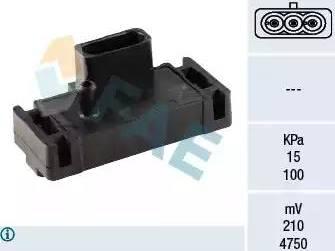 FAE 15001 - Датчик, давление во впускной трубе car-mod.com