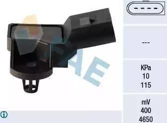 FAE 15042 - Датчик, давление во впускной трубе car-mod.com