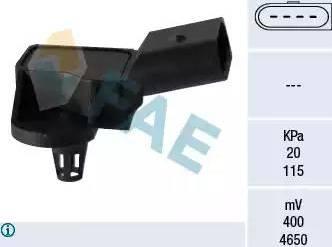 FAE 15090 - Датчик, давление во впускной трубе car-mod.com