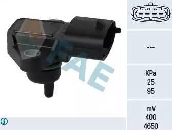 FAE 15126 - Датчик, давление во впускной трубе car-mod.com