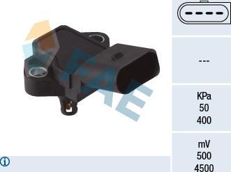 FAE 15150 - Датчик, давление во впускной трубе car-mod.com