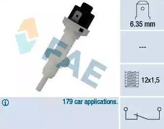 FAE 24010 - Выключатель фонаря сигнала торможения autodnr.net