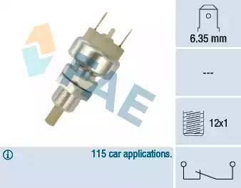 FAE 24150 - Выключатель фонаря сигнала торможения autodnr.net