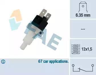 FAE 24200 - Выключатель фонаря сигнала торможения autodnr.net