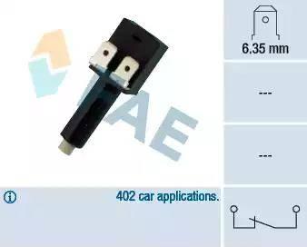 FAE 24210 - Выключатель фонаря сигнала торможения autodnr.net
