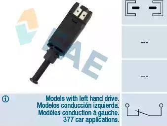 FAE 24420 - Выключатель фонаря сигнала торможения autodnr.net