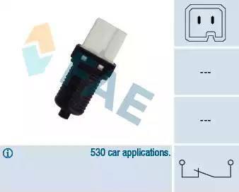 FAE 24440 - Выключатель фонаря сигнала торможения avtokuzovplus.com.ua