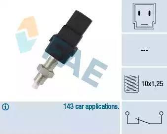 FAE 24450 - Выключатель фонаря сигнала торможения car-mod.com